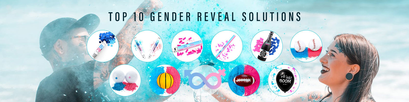 China best Gender Reveal Confetti Cannon on sales